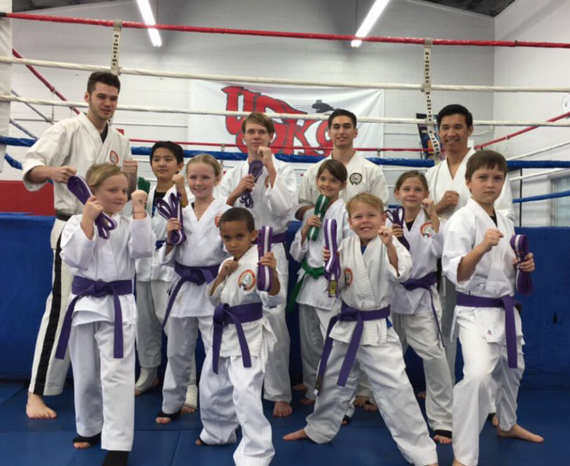 USKO Karate Students