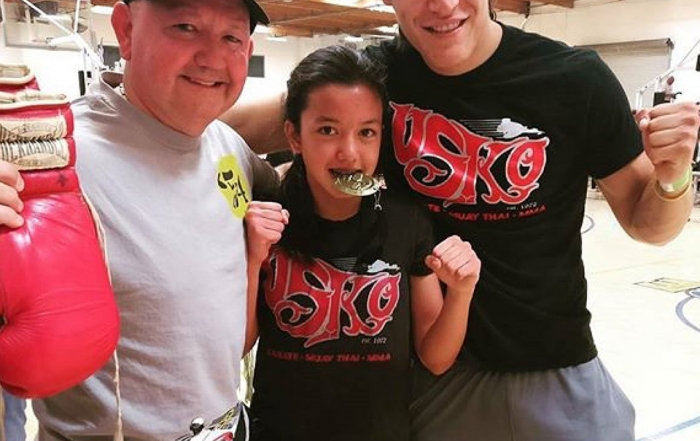 Sofia Flores Wins Her 1st Kickboxing Bout!