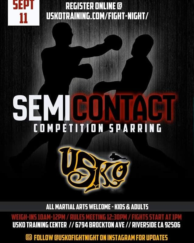 USKO Semi Contact Sparring